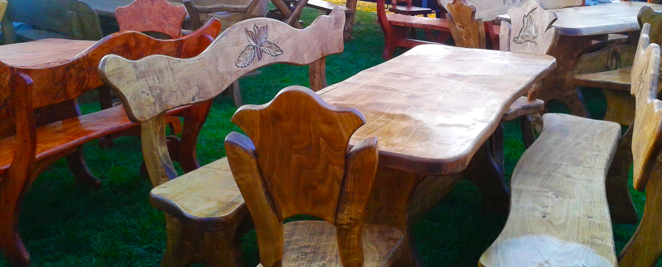 Træmøbler